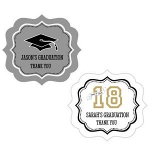Graduation Frame Personalized Labels image