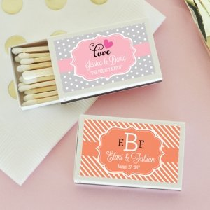 Personalized Theme Match Boxes (Set of 50) image