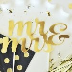 Celebration Gold Cake Topper (Many Designs & Occasions)
