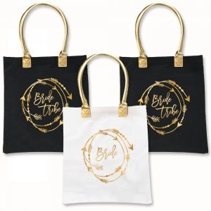 Bride Tribe Tote Bags image