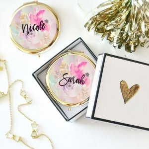 Personalized Floral Compacts image