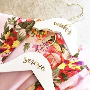 Personalized Bridesmaid Hanger image
