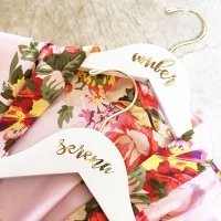 Personalized Bridesmaid Hanger