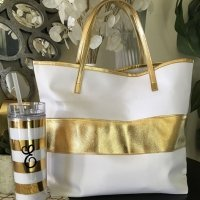Gold Stripe Bag