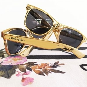 Gold Bachelorette Sunglasses image