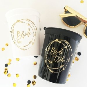 Bride Tribe Cups (Set of 10) image