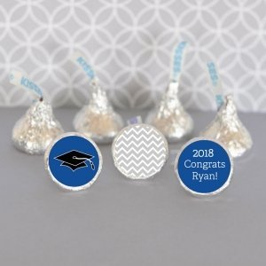 Personalized Graduation Hershey's Kisses Labels (Set of 108) image
