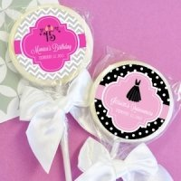 Personalized Lollipop Sweet 15 or Quinceanera Favors