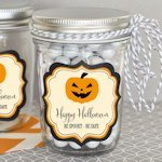 Personalized Classic Halloween Mini Mason Jars
