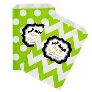 Personalized Spooky Halloween Goodie Bags (set of 12) image