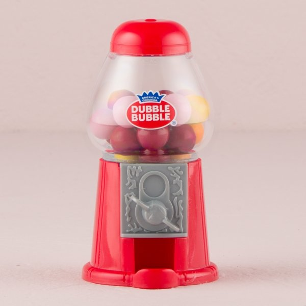 gumball machine favor