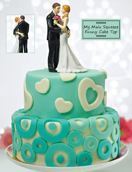 My Main Squeeze Cake Topper