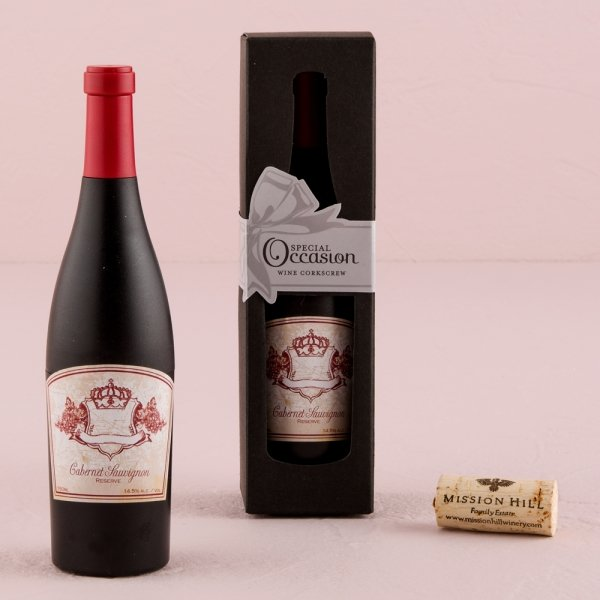 Wedding Wine Bottle Gifts: Winery Themed Wedding Favors