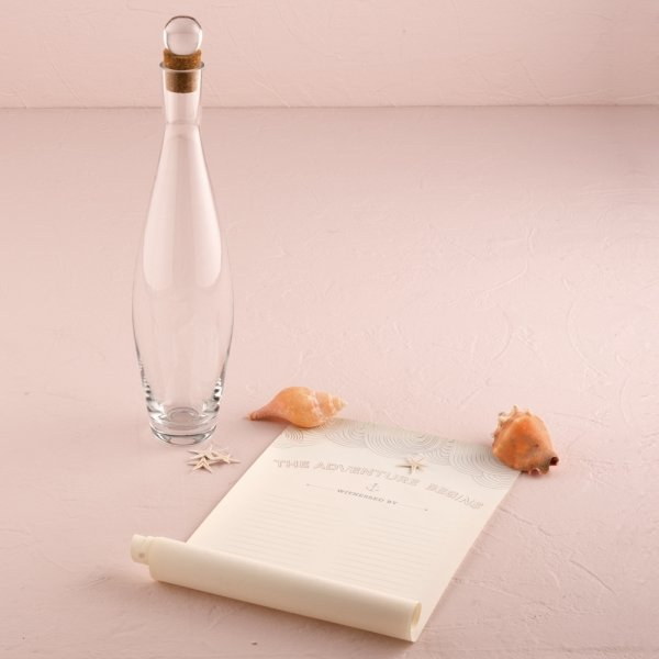 Wedding Message Book Ideas: Message In A Bottle Time Capsule Guest Book Alternative