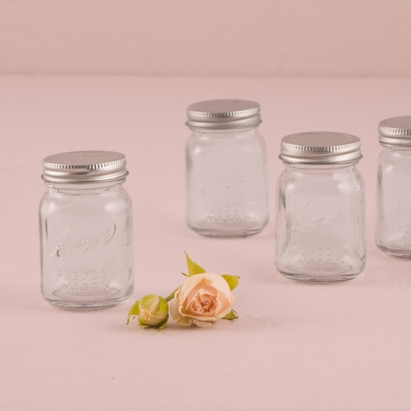 vintage style mini mason jars set of 6