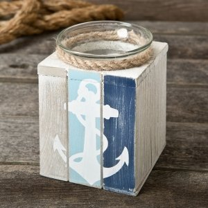 Anchor Candle Holder Favors image