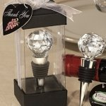 Multi-Faceted 'Crystal' Ball Bottle Stopper