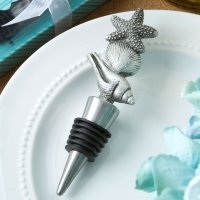 Sea Themed Beach Bottle Stopper Favors