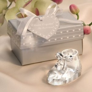 Crystal Baby Bootie Favor image