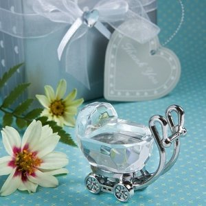 Crystal Baby Carriage Favor image