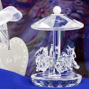 Choice Crystal Carousel Favors image