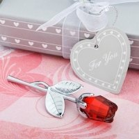Choice Crystal Red Rose Favors