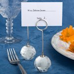 Choice Crystal Ball Place Card Holders