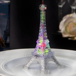 Eiffel Tower Favor with Colorful LED Lights image