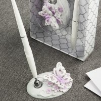 Beautiful Butterfly Wedding Pen Set
