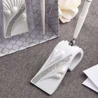 Bling Heart Wedding Pen Set