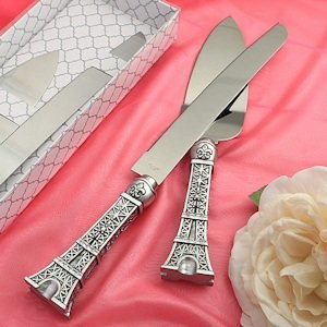 Eiffel Tower Wedding Cake Set image