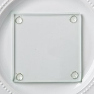 Perfectly Plain Collection Glass Coasters image