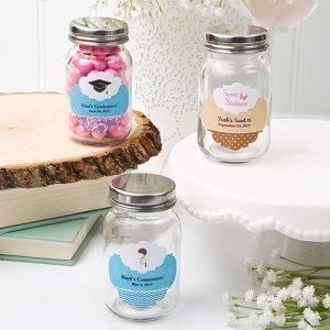 Customized Glass Mason Favor Jars image