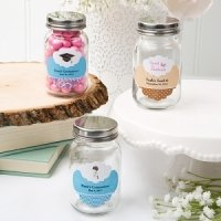 Customized Glass Mason Favor Jars