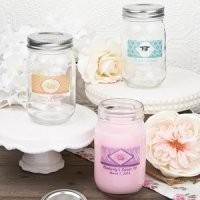 Vintage Glass Mason Jar Party Favors