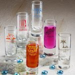 Personalized Shooter Wedding Favor Shot Glasses (50 Designs)
