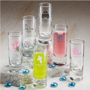 First Communion Personalized Shooter Glass image