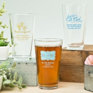 Expressions Collection 16oz Pint Glass Favors image