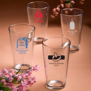 Sweet Celebrations Personalized Drink Glasses image