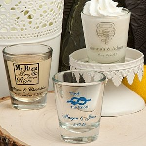 Shot Glasses Wedding Favors (Many Designs) image