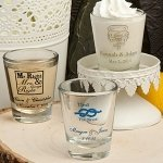 Shot Glasses Wedding Favors (Many Designs)