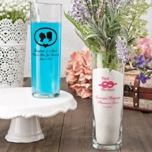 Personalized Zombie Glass Wedding Favors image