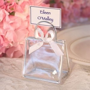 Fillable Handbag Placecard Holders image