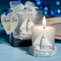 Sailboat Votive Candle Holder