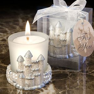 Fairytale Castle Candle Favors image