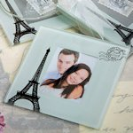 From Paris with Love Coaster Set Favors