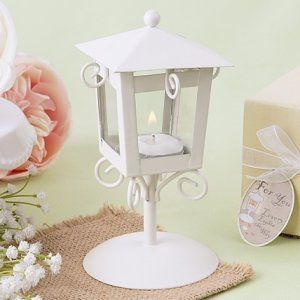 Love Lights the Way Vintage Candle Lamp Favors image