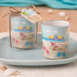 Beach Themed Votive Favor image