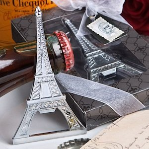 Eiffel Tower Bottle Opener Favor image
