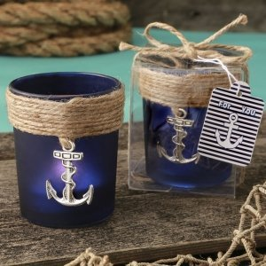 Anchor Design Glass Votive Favors image